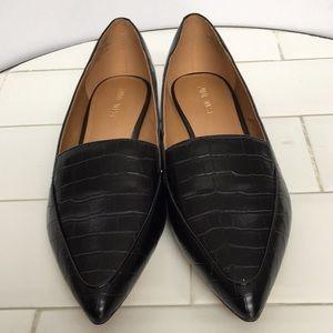 Nine West Black Pointed Slip On NEW Size 9M new